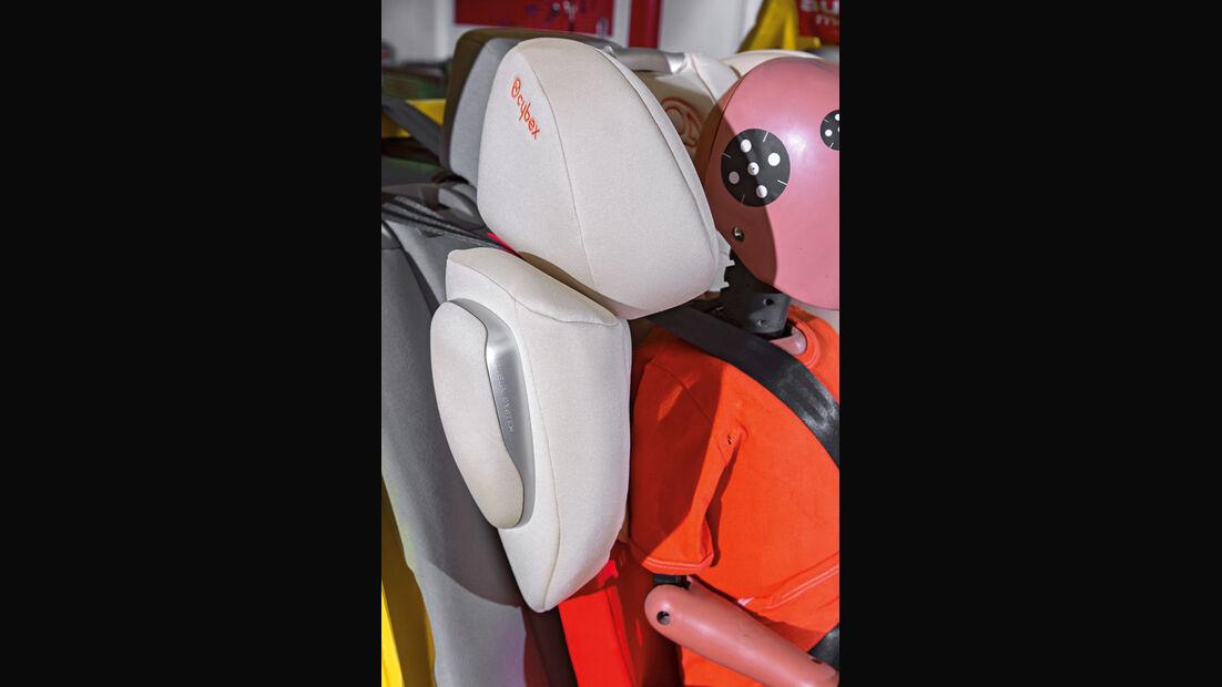 Kindersitz-Crashtest, Cybex Solution Q-Fix