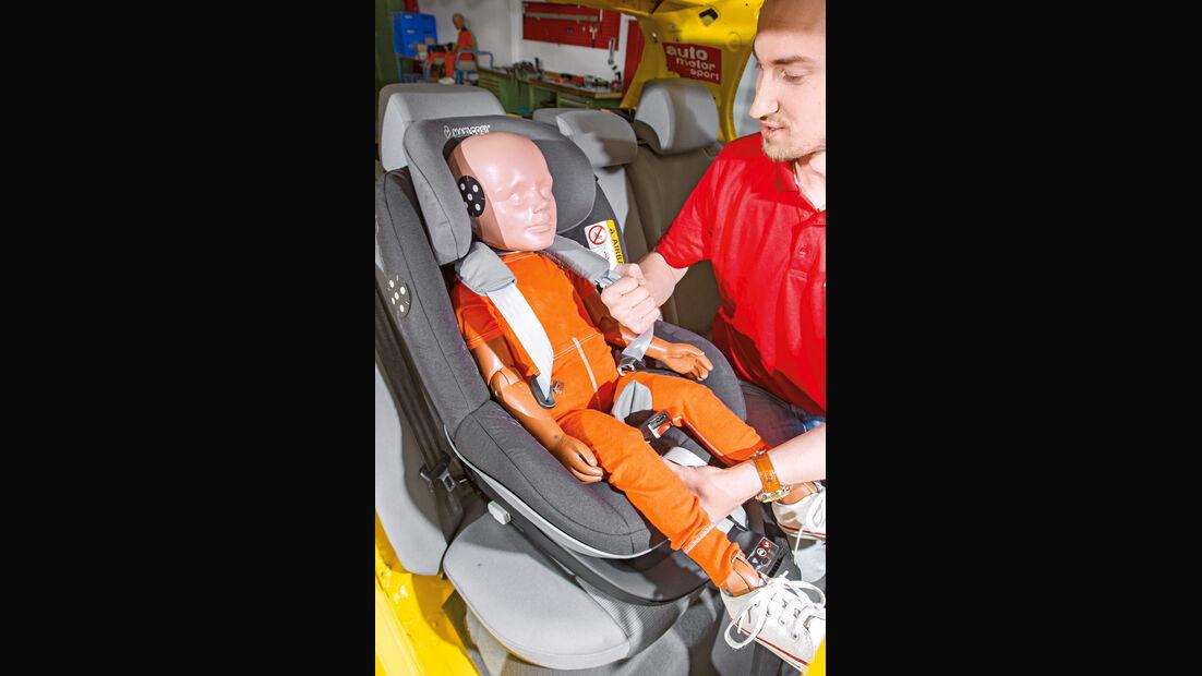 Kindersitz-Crashtest, Maxi Cosi 2way Pearl