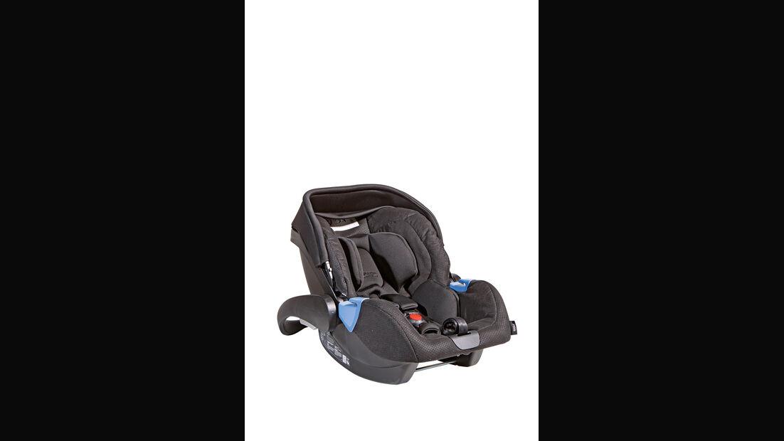 Kindersitz-Crashtest, Recaro Privia