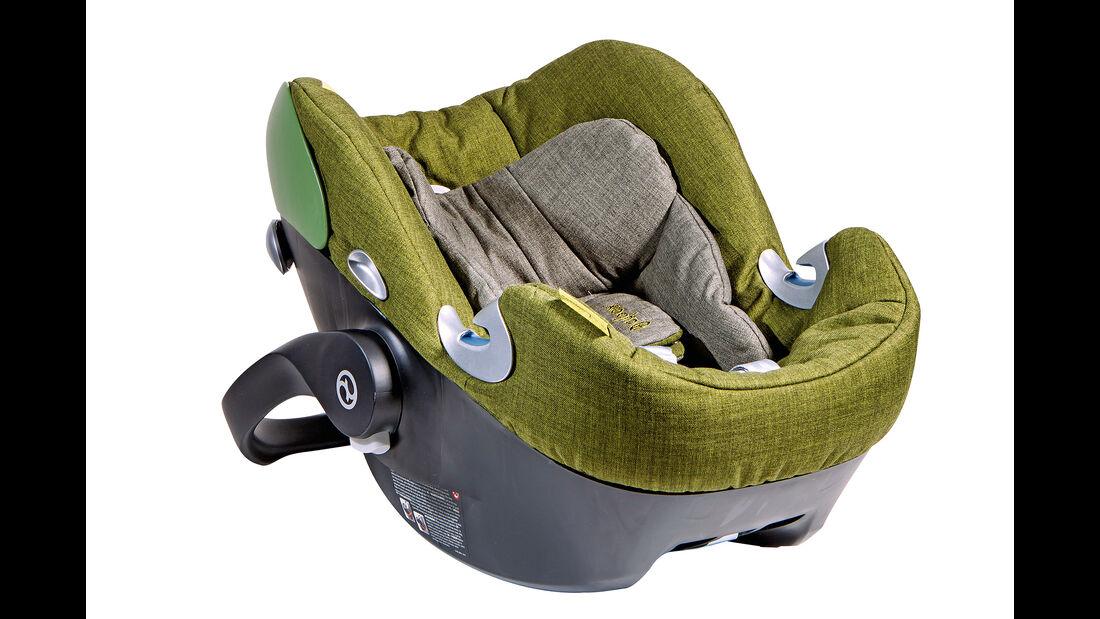 Kindersitz-Test 2014, Gruppe 0/0+, Babyschalen, Cypex Aton Q
