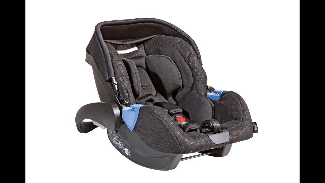 Kindersitz-Test 2014, Gruppe 0/0+, Babyschalen, Recaro Privia