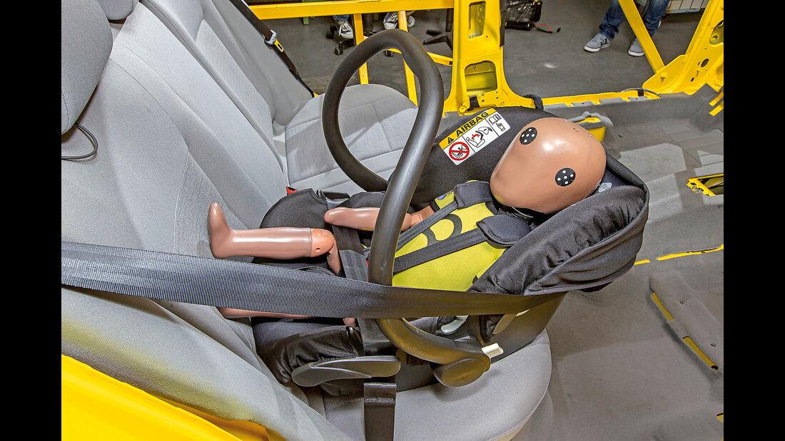 Kindersitz-Test 2015, Gruppe 0/0+, Babyschalen, Safety 1st OneSafe XT
