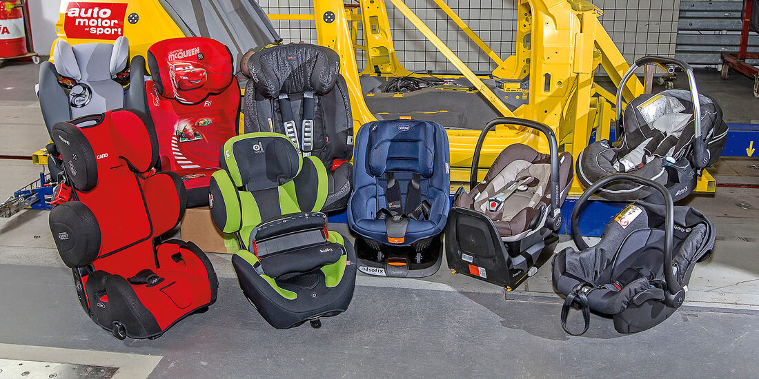 Kindersitz-Test 2015, Gruppe 0/0+, Babyschalen