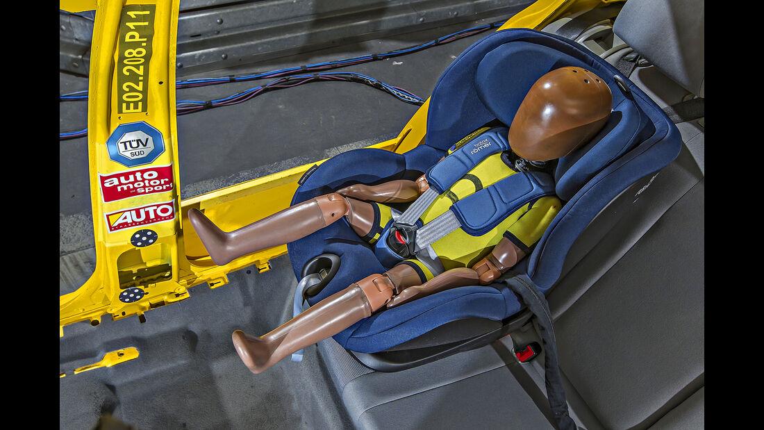 Kindersitztest 2018 - Britax-Römer Trifix i-Size