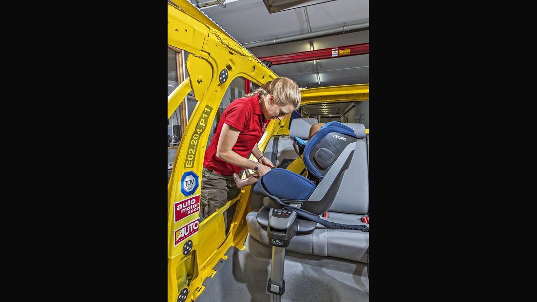 Kindersitztest 2018 - Recaro Zero.1 Elite i-Size