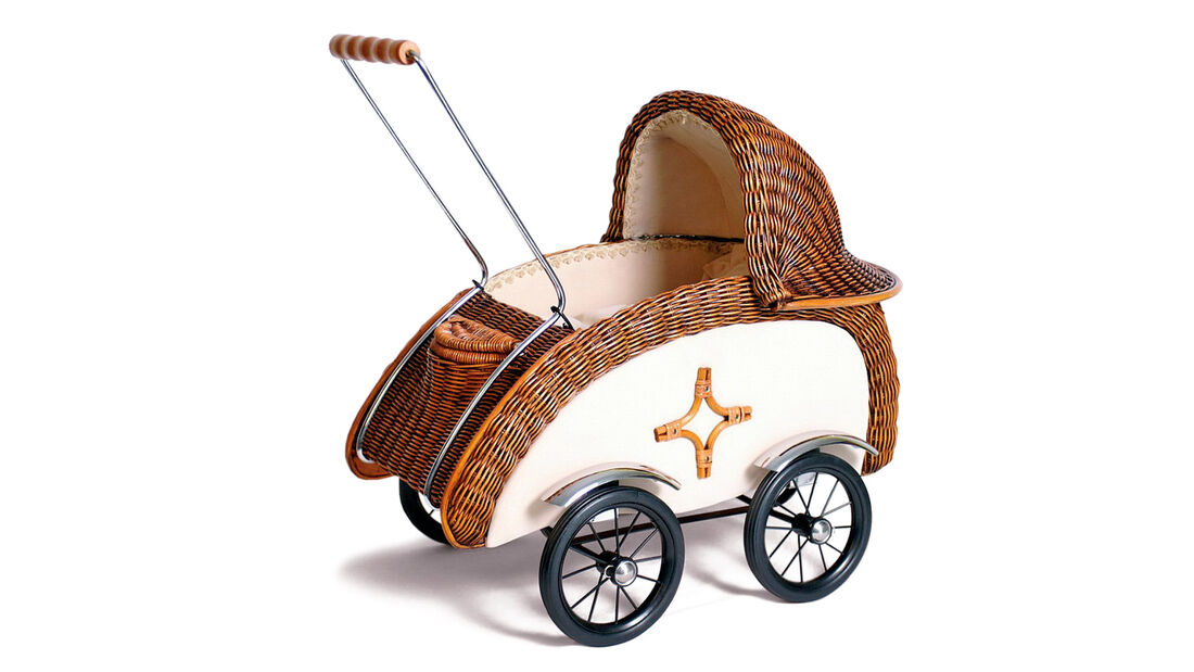 Kinderwagen, Antik