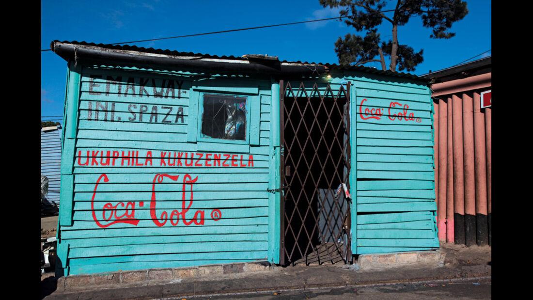 Kiosk, Vorort Kapstadt