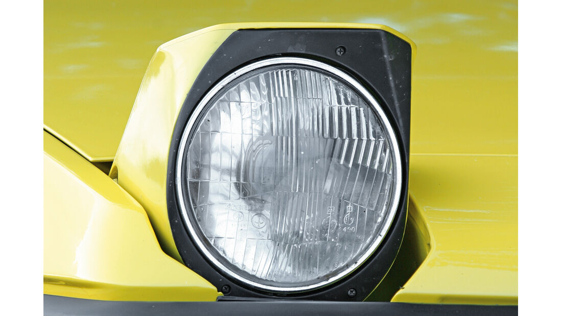 Klappscheinwerfer, Fiat X1/9