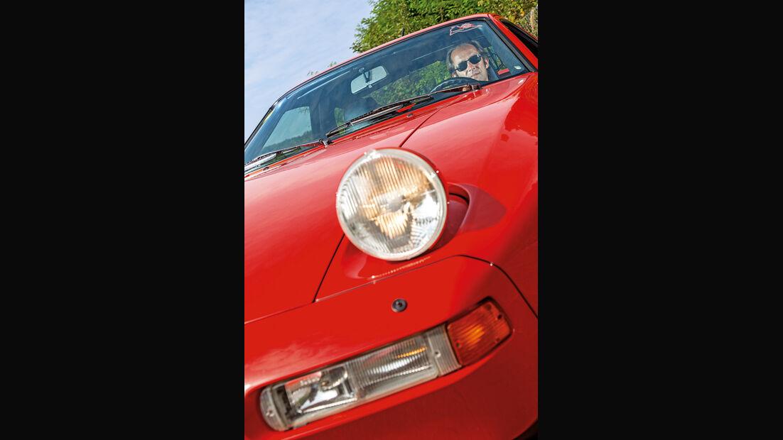 Klappscheinwerfer, Porsche