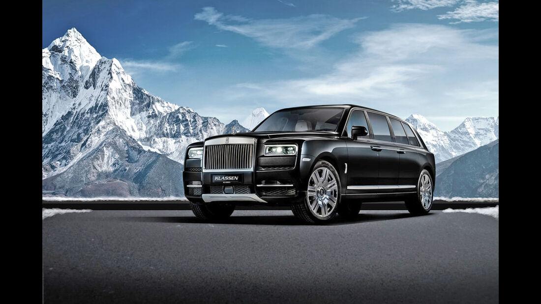 Klassen Rolls-Royce Cullinan Stretched