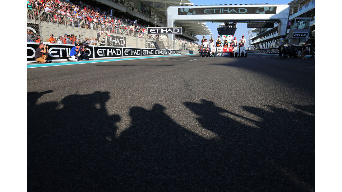 Klassenfoto - GP Abu Dhabi 2015