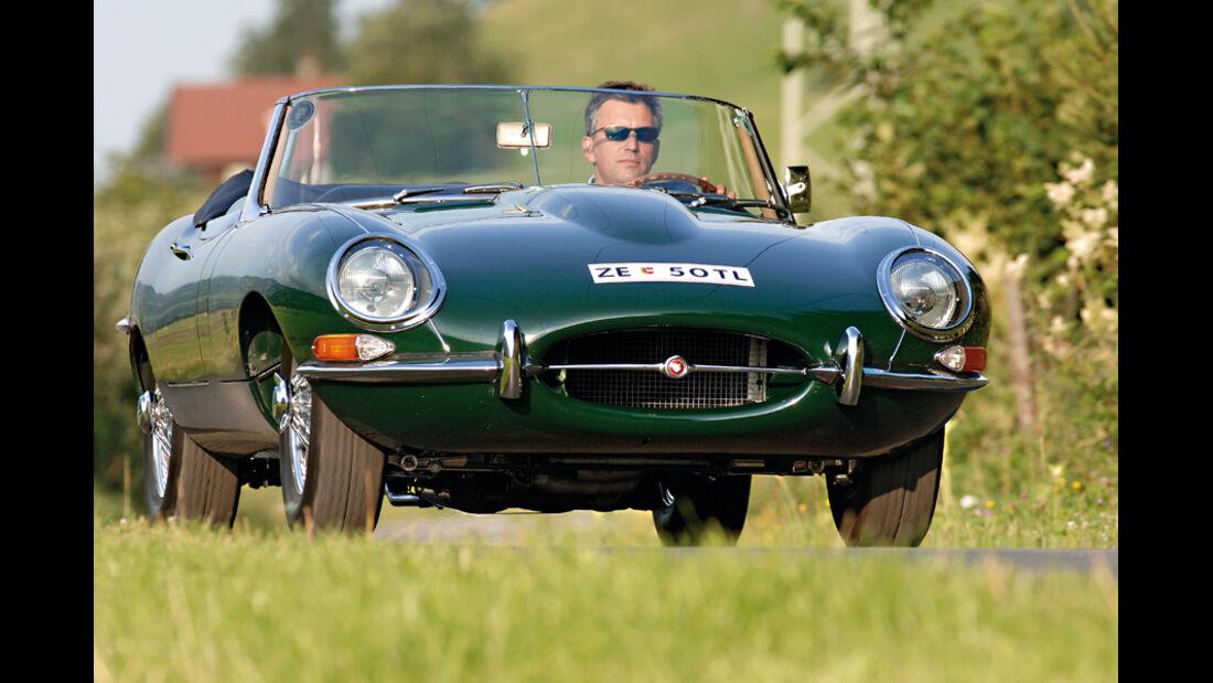 Klassiker als Investment, Jaguar E-Type Roadster