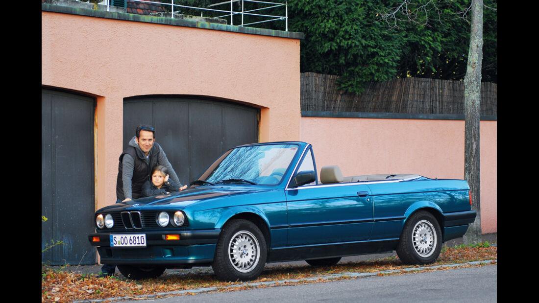 Klassiker im Alltag, BMW 318 i Cabrio