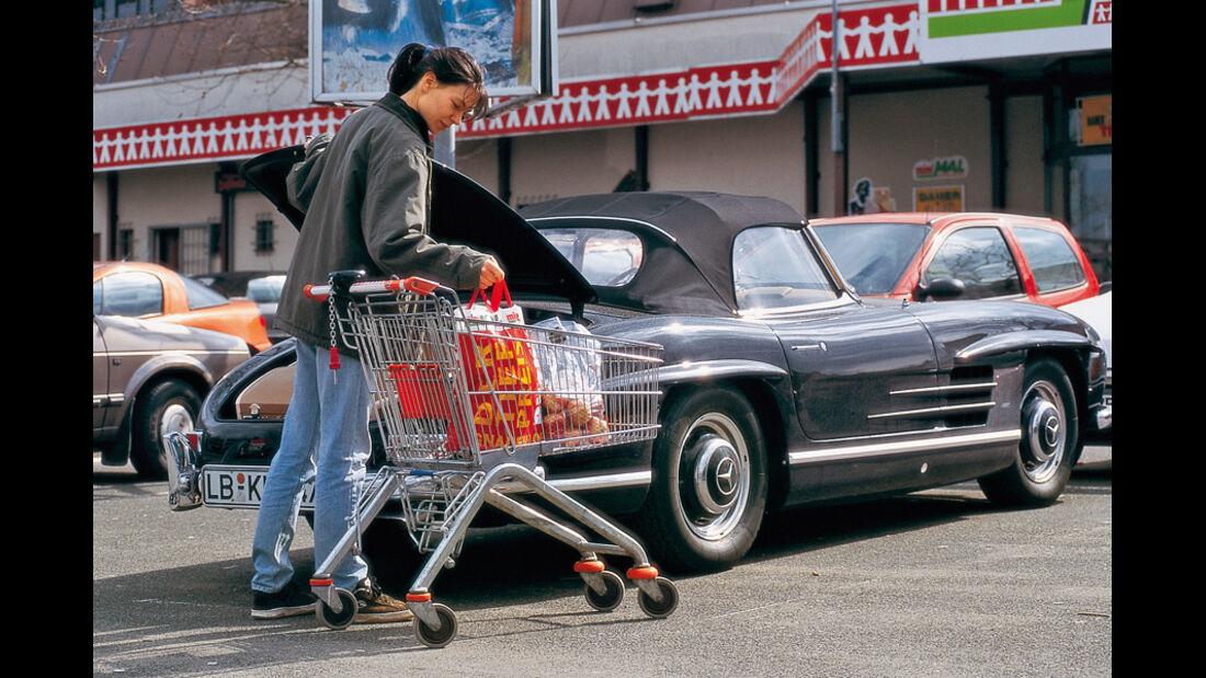 Klassiker im Alltag, Mercedes SL