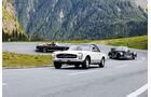 Klassiker von Mercedes-Benz in den Alpen