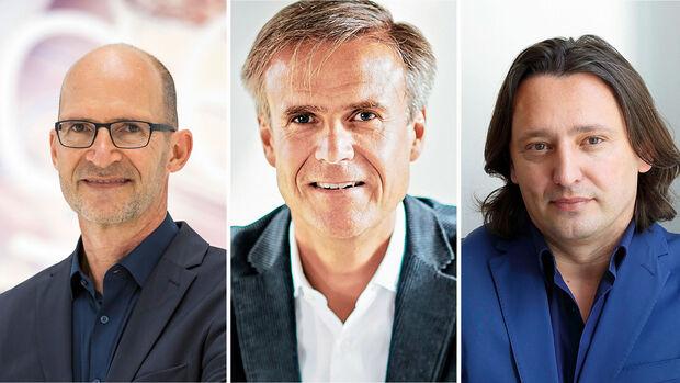 Klaus Bischoff, Michael Mauer, Jozef Kabaň