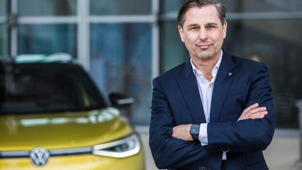 Klaus Zellmer Volkswagen Pkw Markenvorstand Vertrieb Marketing After Sales