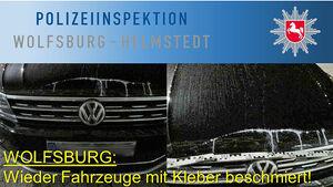 Klebstoff Attacken Wolfburg