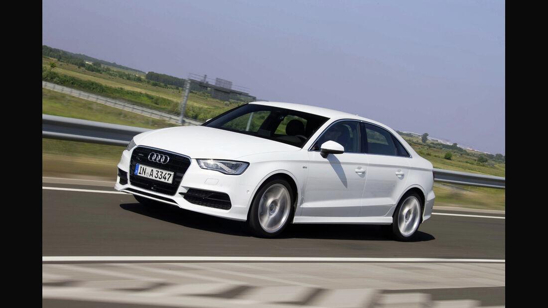 Kleiner Lichtblick für VW: Konzern-Tochter Audi konnte dank der A3-Limousine ihren Absatz steigern.