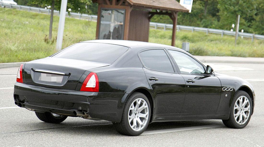 Kleiner Maserati Erlkönig