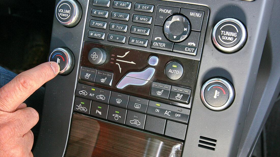 Klimaanlagen-Wartung, Mittelkonsole