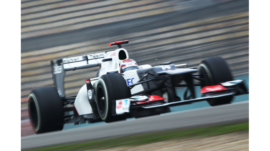 Kobayashi - Formel 1 - GP China - 13. April 2012