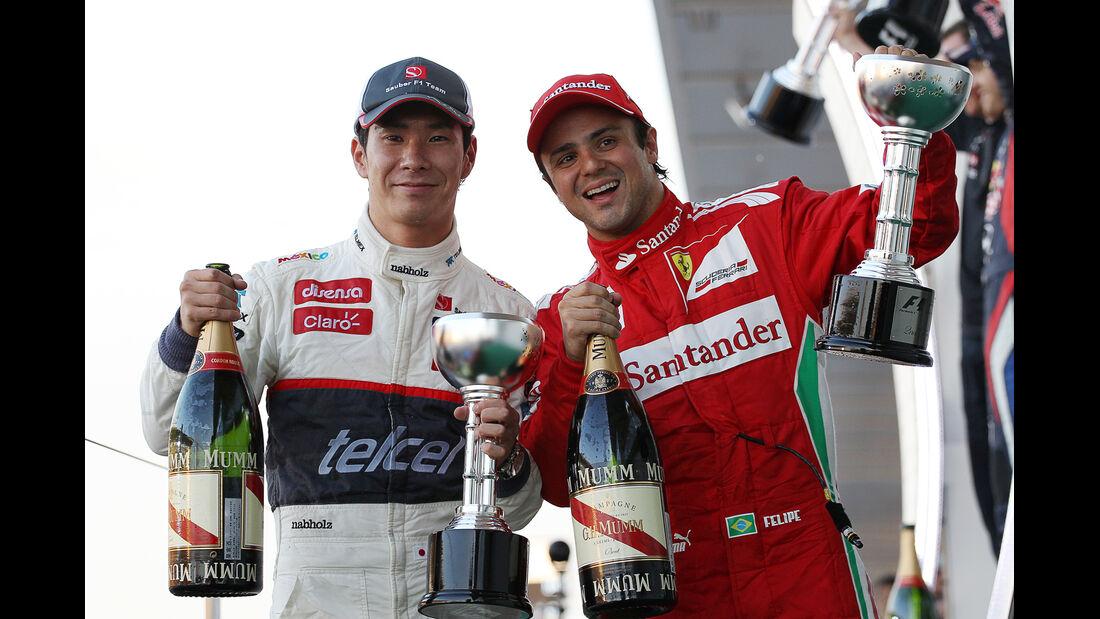 Kobayashi & Massa GP Japan 2012