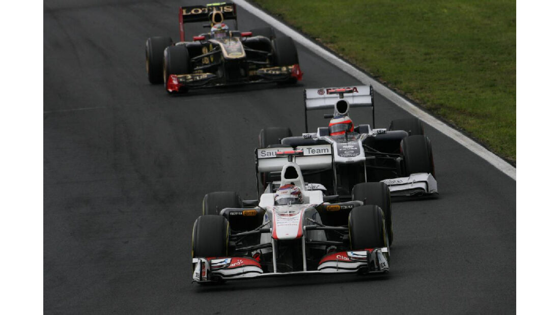 Kobayashi - Noten - GP Ungarn - Formel 1 - 31.7.2011
