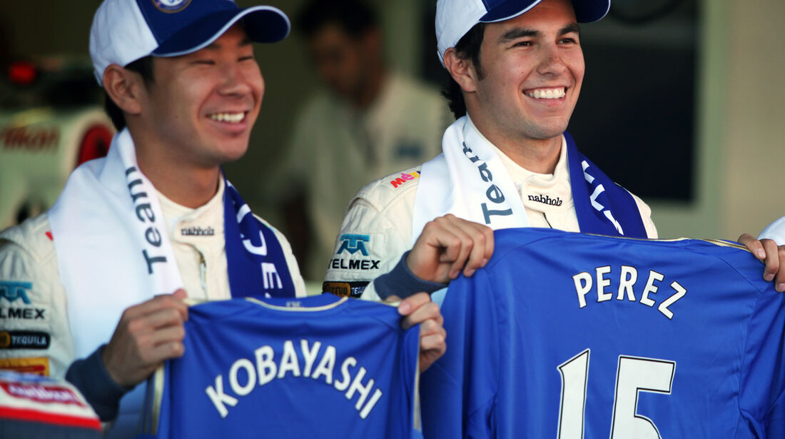 Kobayashi & Perez - Sauber - GP Spanien - 10. Mai 2012