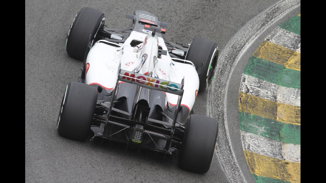 Kobayashi Sauber GP Brasilien 2012