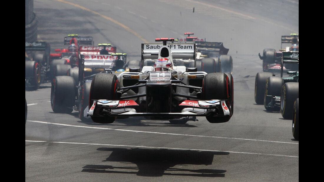 Kobayashi - Sauber - Monaco 2012