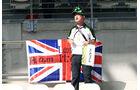 Kobyashi-Fan - Formel 1 - GP Abu Dhabi - 22. November 2014