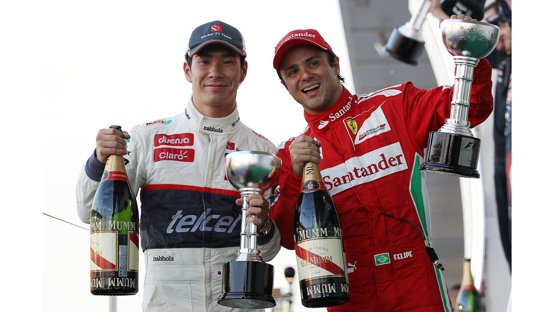 Kobyashi & Massa GP Japan 2012