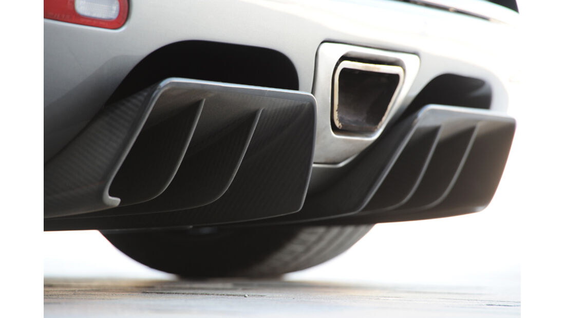 Koenigsegg Agera Auspuff