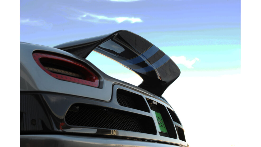 Koenigsegg Agera Heck
