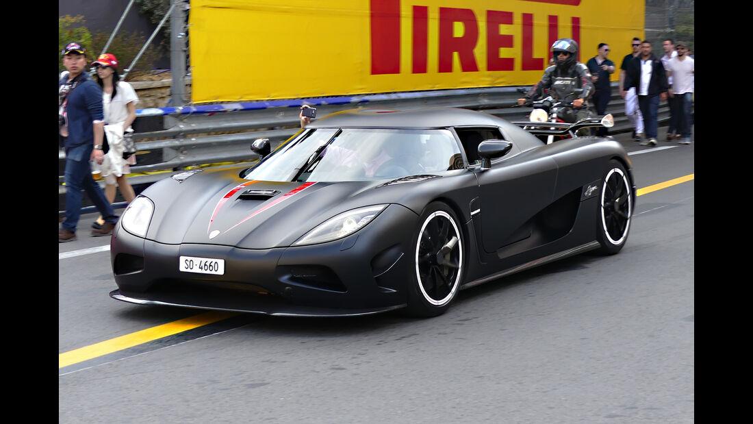Koenigsegg Agera R - Carspotting - GP Monaco 2016