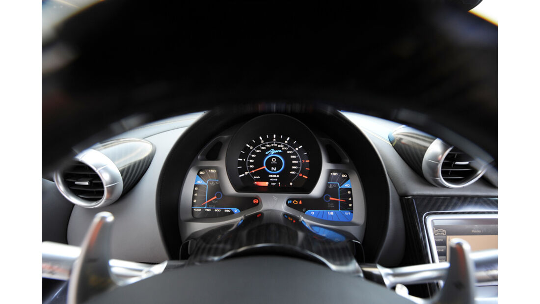 Koenigsegg Agera Tacho