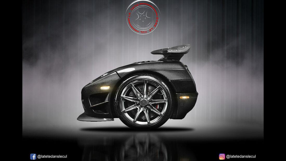 Koenigsegg CCX Retusche