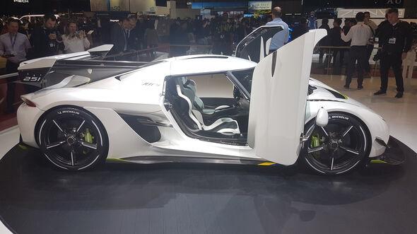 Koenigsegg Jesko Hypercar Genf 2019
