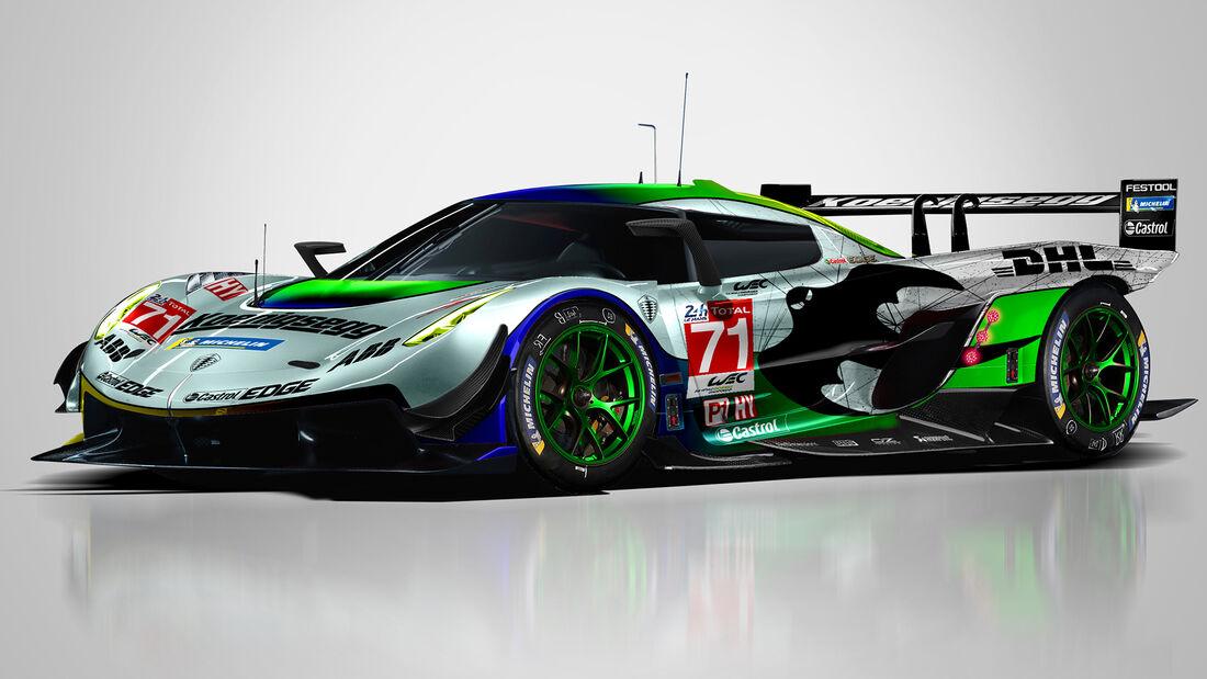 Koenigsegg - Le Mans - Protoyp - Concept - Hypercar / LMDh - Sean Bull