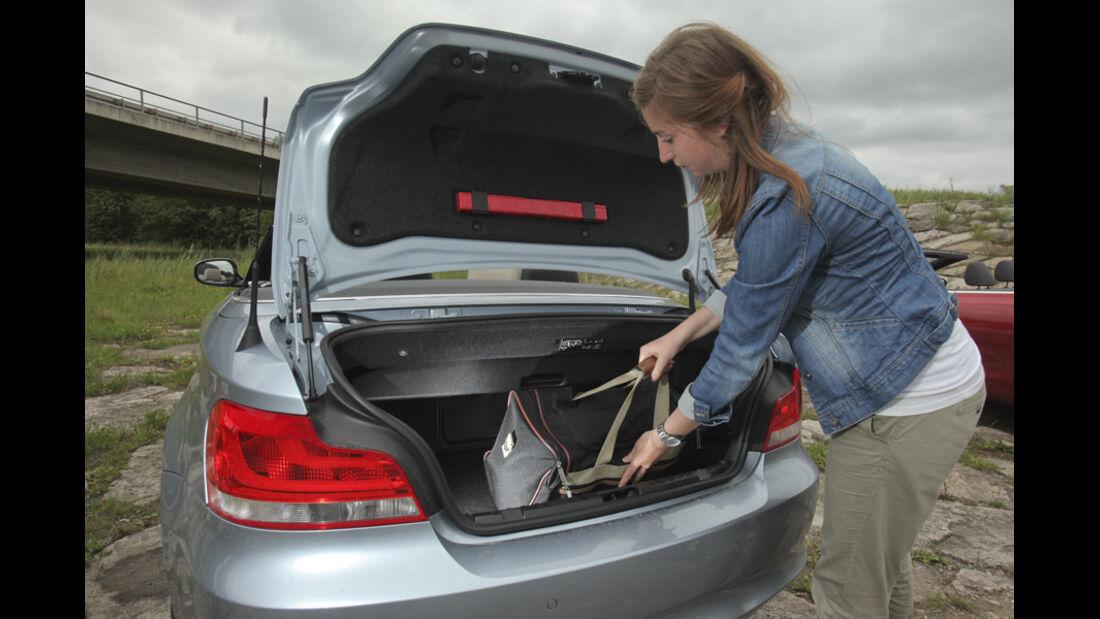 Kofferraum BMW 120i