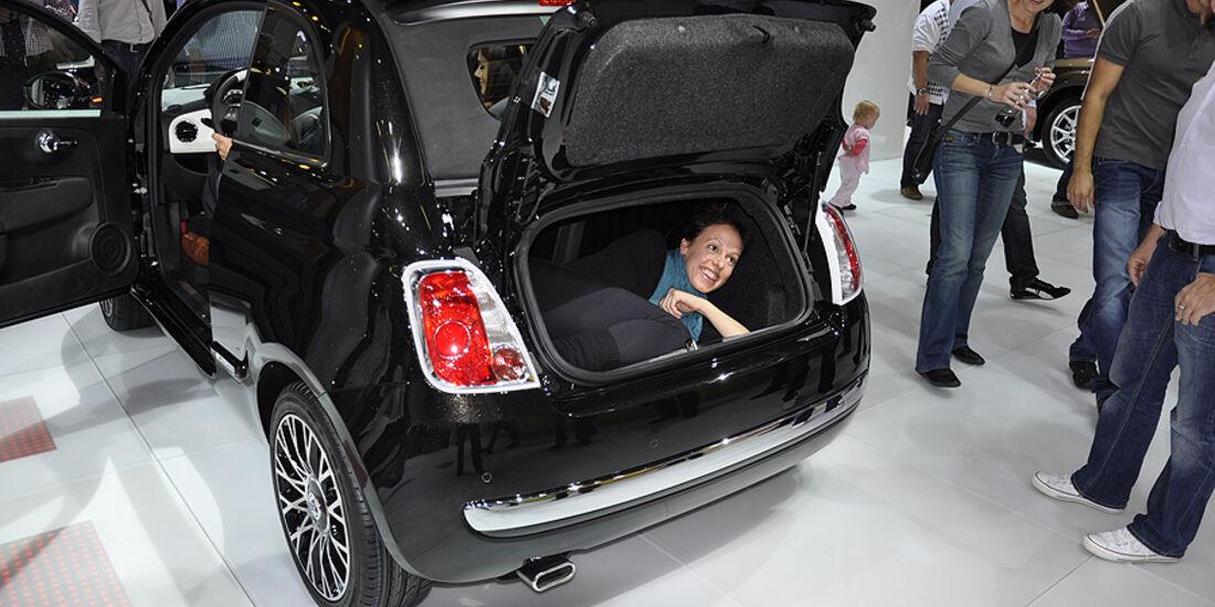 Der Etwas Andere Kofferraumtest Ungeahnte Innenansichten Auto