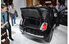 Kofferraum Fiat 500