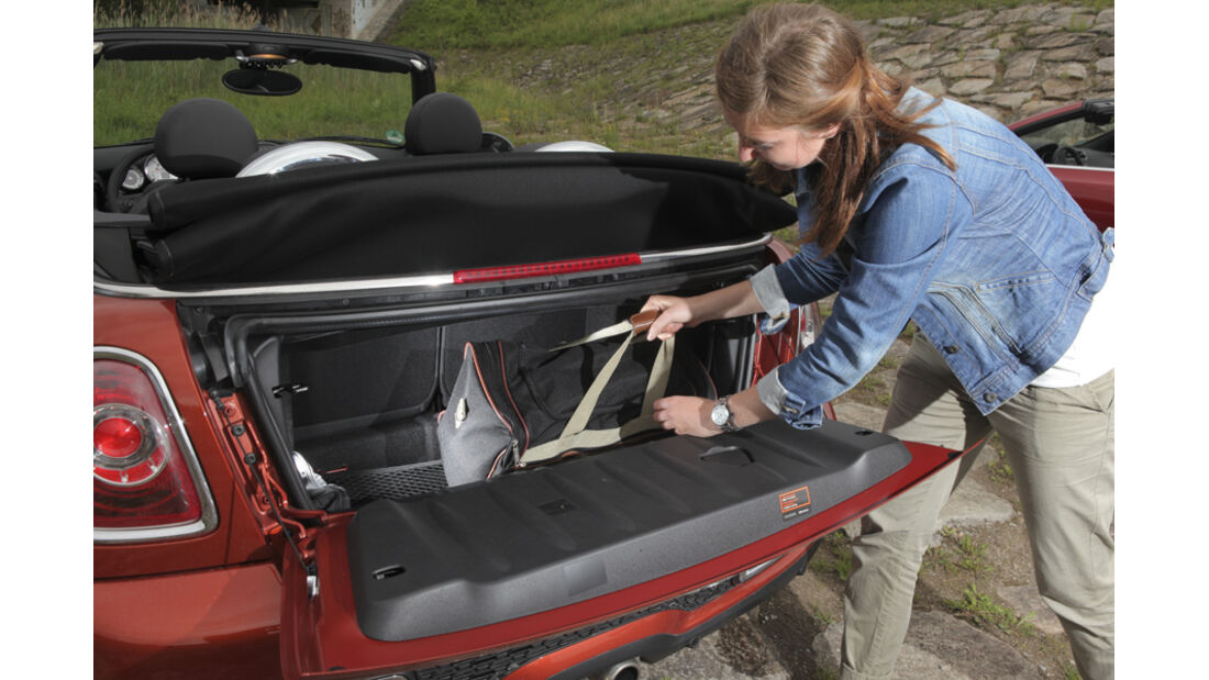 Kofferraum Mini Cooper S Cabrio