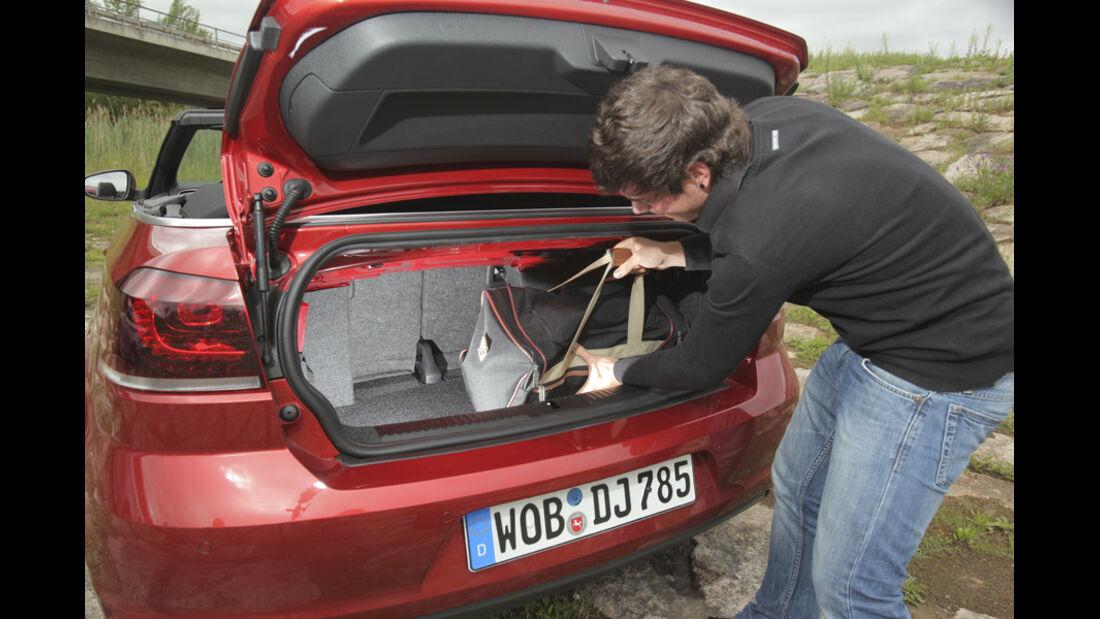 Kofferraum VW Golf Cabrio 1.4 TSI
