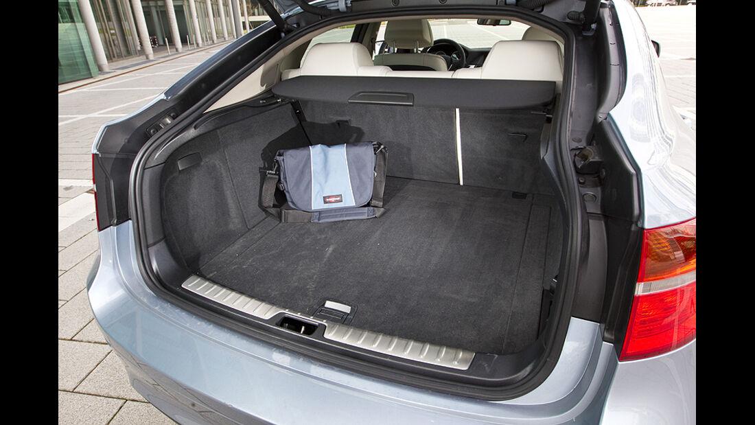 Kofferraum des BMW Active Hybrid X6