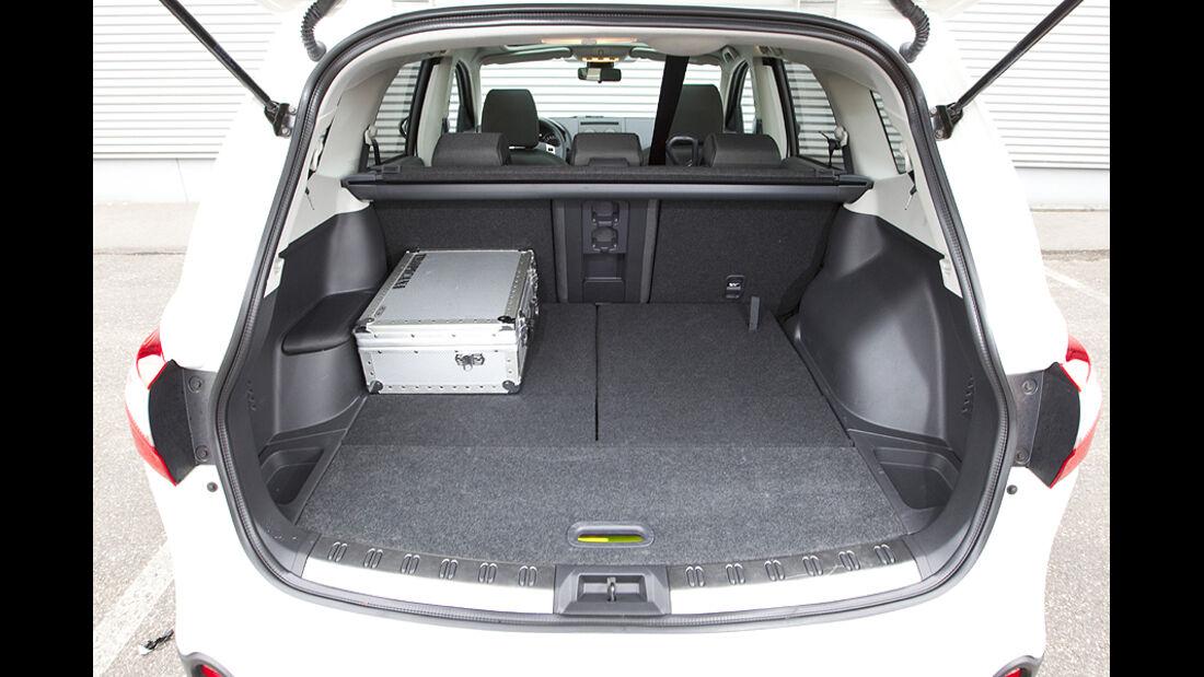 Kofferraum von Nissan Qashqai+2