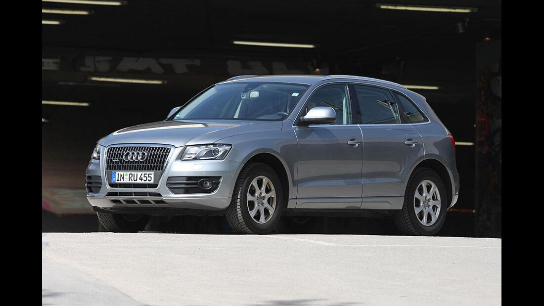 Kofferraumvolumen Test, Audi Q5