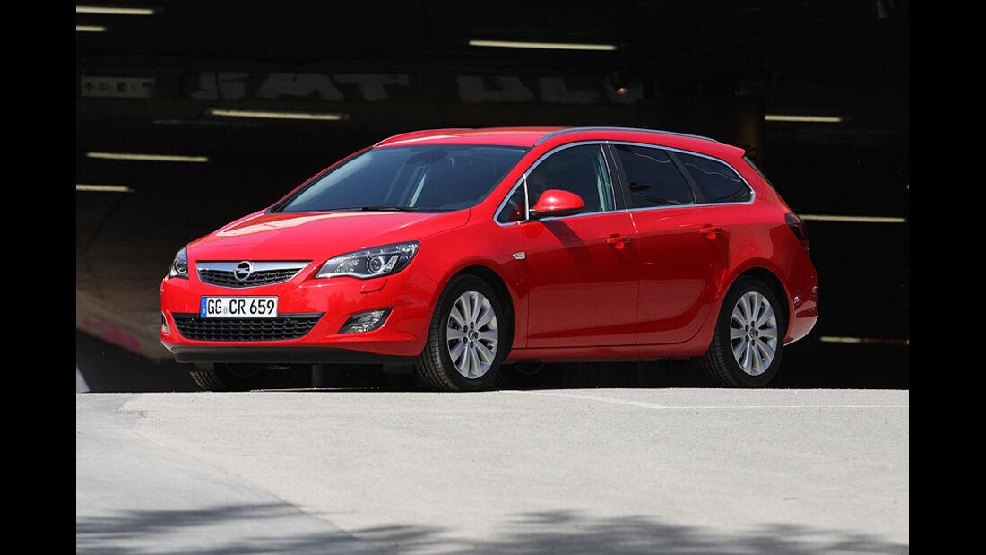 Kofferraumvolumen Test, Opel Astra Sports Tourer