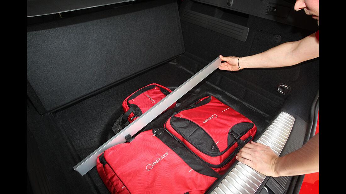 Kofferraumvolumen Test, Opel Astra Sports Tourer, Kofferraum